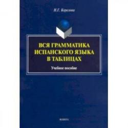 Вся грамматика испанского языка в таблицах. Учебное пособие