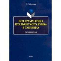 Вся грамматика итальянского языка в таблицах. Учебное пособие