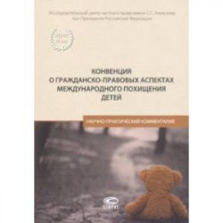 Конвенция о гражданско-правовых аспектах международного похищения детей. Научно-практический коммен.