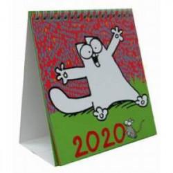 Знаменитый Кот Саймона. Настольный календарь на 2020 год