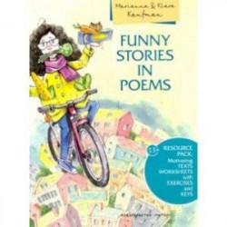 Английский язык. 2-4 классы. Смешные истории в стихах + QR-код. Учебное пособие