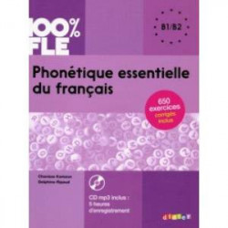 Phonetique essentielle du francais B1-B2 + CD MP3