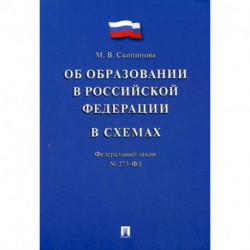 Федеральный закон 'Об образовании в Российской Федерации' в схемах № 273-ФЗ