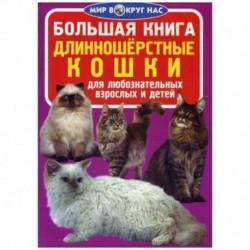 Большая книга. Длинношерстные кошки. Для любознательных взрослых и детей