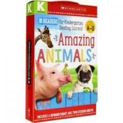 Amazing Animals. Kindergarten A-D. 16 readers Box Set