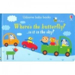 Where's the Butterfly? (board book)