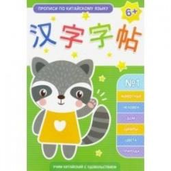 Прописи по китайскому языку. Выпуск 1 (50792)