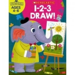 Little Skill Seekers: 1-2-3 Draw! (Ages 4-6)