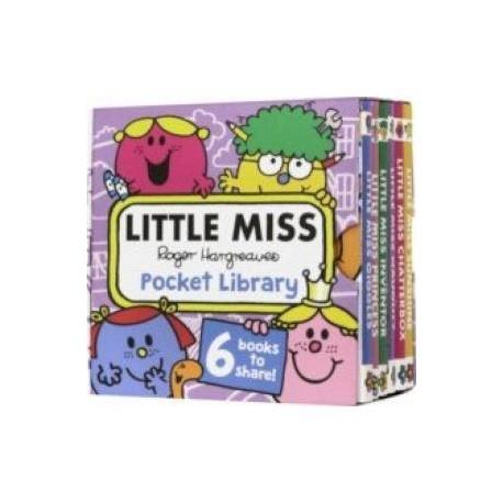 Little Miss Pocket Library (6-mini book)