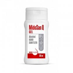 Дезинфицирующее средство для рук MidoSan Q GEL, 50 ml