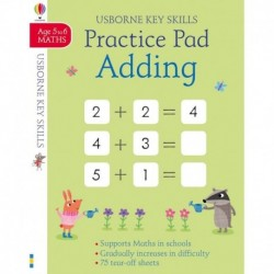 Adding Practice Pad Age 5-6