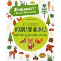 My First Book of Woodland Animals with lots of fantastic stickers