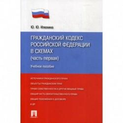 Гражданский кодекс Российской Федерации в схемах (часть первая)