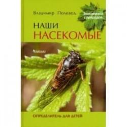 Наши насекомые. Определитель для детей