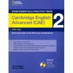 Exam Essentials: Cambr Adv Pract Test 2 w/key +DVD