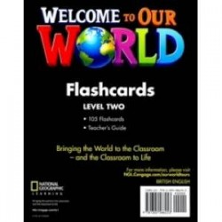 Welcome to Our World 2: Flashcards Set
