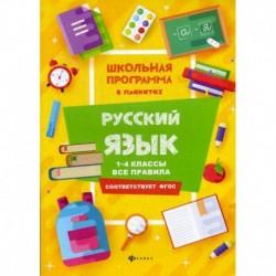 Русский язык: 1-4 классы: все правила