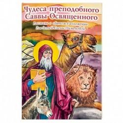 Чудеса преподобного Саввы Освященного. Рассказы о святом в изложении для детей