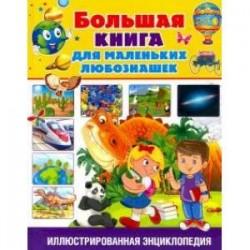 Большая книга для маленьких любознашек. Иллюстрированная энциклопедия