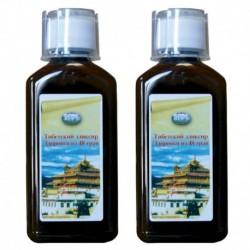 Тибетский эликсир здоровья из 48 трав. (усиленный курс) (400 мл)