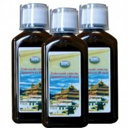 Тибетский эликсир здоровья из 48 трав. (интенсивный курс) (600 мл)