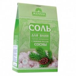 Соль для ванн с эфирным маслом сосны. 500 г