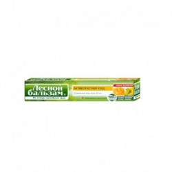 Лечебно-профилактическая зубная паста с экстрактом прополиса и зверобоя на отваре трав. 75 мл