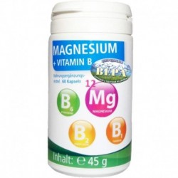 Magnesium + Vitamin B 60 капсул