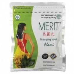 Индонезийские капсулы для похудения Merit 500 мг N21