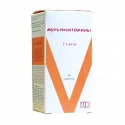 Мультивитамин 1 в день, 60 таб