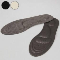 Стельки для обуви, амортизирующие, универсальные, 40-46 р-р, пара, цвет в ассортименте