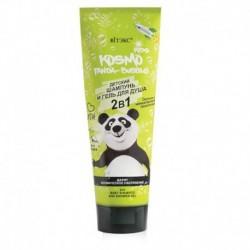 Panda-Bubble 2в1 Детский шампунь и гель для душа 250 мл
