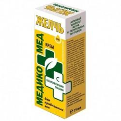 Крем косметический 'Желчь с лекарственными травами для проблемных зон', 75 мл