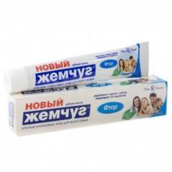 Зубная паста Новый Жемчуг Фтор. 50 мл