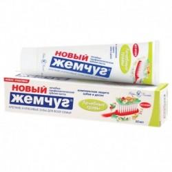 Зубная паста Новый Жемчуг Лечебные травы. 50 мл