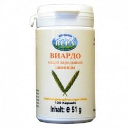 Масло зародышей пшеницы Виардо. (120 капсул).