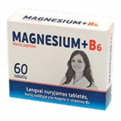 Магний + В6, 60 таб. по 300 мг