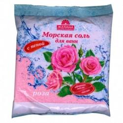 Морская соль для ванн с пеной 'Роза'. 500 г