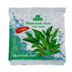 Соль для ванн с пеной 'Зеленый чай'. 500 г