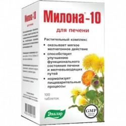 Милона-10 (для печени). 100таб