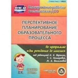 Перспективное планирование по программе 'От рождения до школы'. Средняя группа (CD)