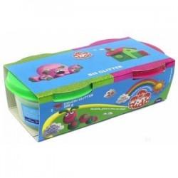 Детская паста для лепки DIDO (2 цвета с блестками, 100 гр)