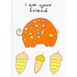 Блокнот для записей 'I'm your friend'
