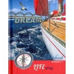 Записная книжка женщины 'Яхта'