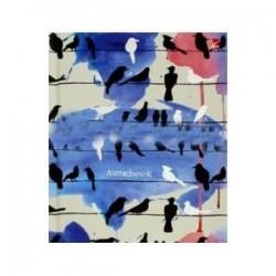 Книга для записей 'Городские птицы' (96 листов, А6) (КЗФ6962099)