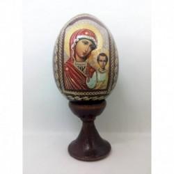 Яйцо-Икона 'Божия матерь Казанская' (11х5)