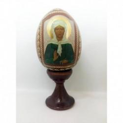 Яйцо-Икона 'Матрона Московская' (11х5)
