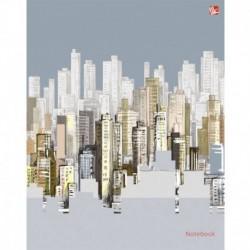 Книга для записей 64л,А5,Стильный город,ЕТИ56425