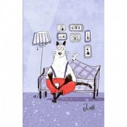 Блокнот, поднимающий настроение 'На диване'