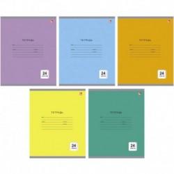 Тетрадь 'Однотонная серия' 5 видов